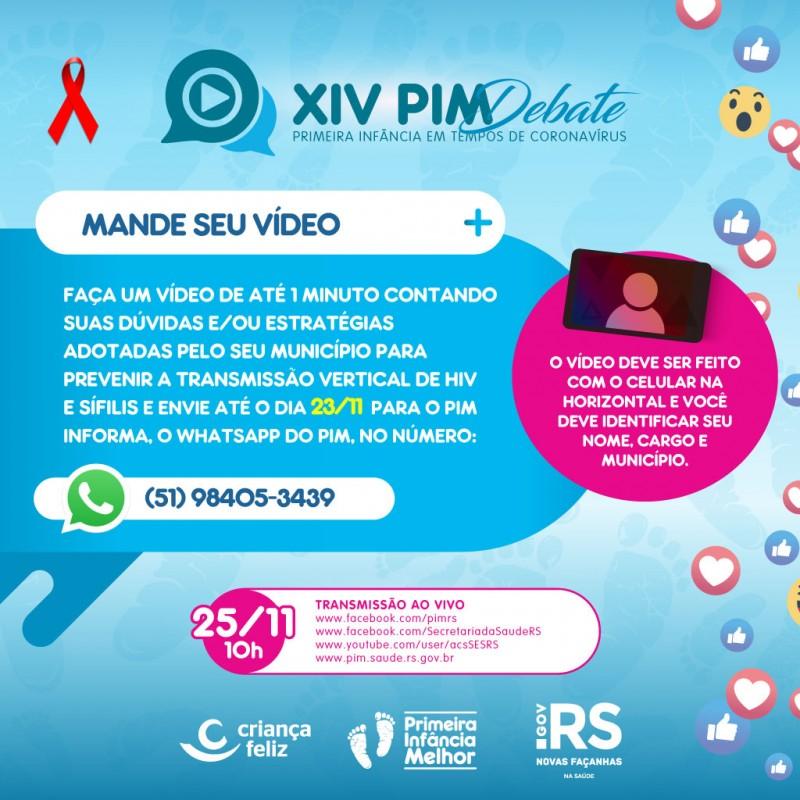 XIV PIM Debate card video