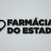 Texto escrito Farmácia do Estado